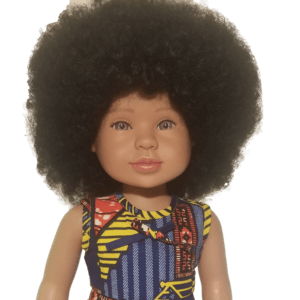 beautiful biracial doll