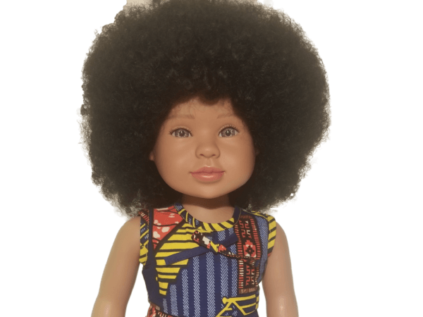 beautiful biracial doll