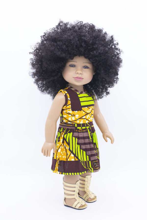 Khatidoll black doll