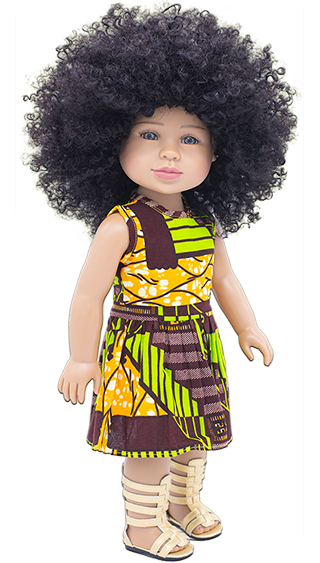 18 Inch Black Biracial Dolls for Sale